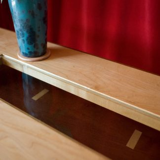 """Top view of """"Floating"""" coffee table by FATSTICK"""